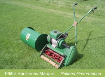 Classic Cylinder Lawnmowers And Other Vintage Machinery